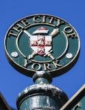 La ciudad de York Fotografía de archivo libre de regalías