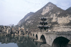 Ciudad antigua de zhenyuan fotos de archivo libres de regalías