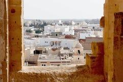 La ciudad del EL Djem en Túnez Fotos de archivo libres de regalías