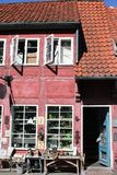 La ciudad del koge en Dinamarca Fotos de archivo libres de regalías
