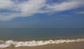 La ciudad del lado de mar Imágenes de archivo libres de regalías