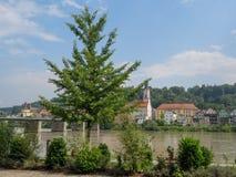La ciudad del passau en Alemania fotos de archivo libres de regalías