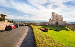 La ciudad famosa en Toscana - Assisi Italia Fotografía de archivo libre de regalías
