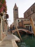 La ciudad flotante Foto de archivo libre de regalías