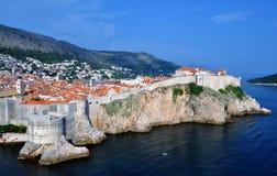 La ciudad fortificada de Dubrovnik - fuerte Bokar fotos de archivo libres de regalías