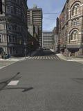 La ciudad grande ilustración del vector
