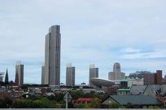 La ciudad grande Fotografía de archivo libre de regalías