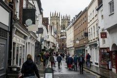 La ciudad grande Yorkshire de la iglesia de York de la catedral fotografía de archivo