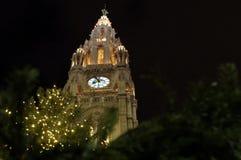 La ciudad Hall Tower (el Rathaus) de Viena Imagen de archivo libre de regalías