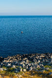 La ciudad hermosa de Otranto en Puglia fotografía de archivo libre de regalías
