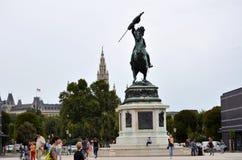 La ciudad histórica de Viena fotografía de archivo