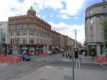 La ciudad irlandesa más hermosa fotografía de archivo
