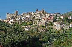 la ciudad italiana Itry Fotografía de archivo libre de regalías