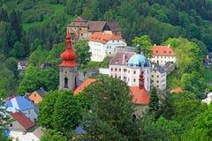 La ciudad pintoresca del  ov de BeÄ Imagenes de archivo