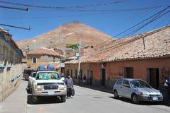 La ciudad Potosi fotos de archivo