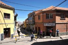 La ciudad Potosi imagenes de archivo