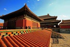 La ciudad Prohibida de Pekín Imagenes de archivo