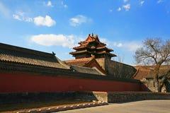 La ciudad Prohibida de Pekín Fotografía de archivo