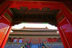 La ciudad Prohibida de Pekín Imagen de archivo libre de regalías