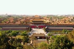 La ciudad Prohibida de Pekín Fotografía de archivo libre de regalías