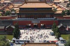 La ciudad Prohibida de Pekín Fotos de archivo libres de regalías
