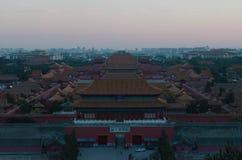 La ciudad Prohibida en de China fotos de archivo libres de regalías
