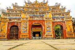 La ciudad Prohibida en la tonalidad, Vietnam foto de archivo