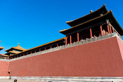 La ciudad Prohibida en Pekín Imagen de archivo