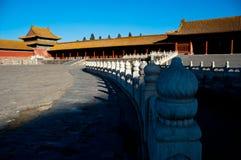 La ciudad Prohibida en Pekín foto de archivo