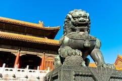 La ciudad Prohibida en Pekín fotos de archivo