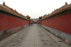 La ciudad Prohibida, Pekín, China Imagen de archivo libre de regalías