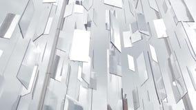 La ciudad refleja en espejos