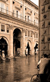 La ciudad romántica Fotos de archivo libres de regalías