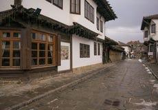 La ciudad vieja Imagen de archivo libre de regalías