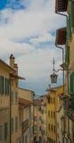 La ciudad vieja de Arezzo Fotos de archivo libres de regalías
