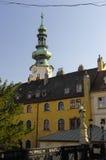 La ciudad vieja de Bratislava, Eslovaquia Fotos de archivo libres de regalías