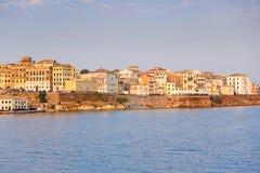 La ciudad vieja de Corfú, Grecia Fotos de archivo libres de regalías