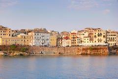 La ciudad vieja de Corfú, Grecia Imagen de archivo