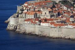 La ciudad vieja de Dubrovnik imagen de archivo libre de regalías