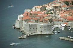La ciudad vieja de Dubrovnik Foto de archivo libre de regalías