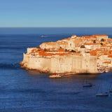 La ciudad vieja de Dubrovnik, Croatia foto de archivo