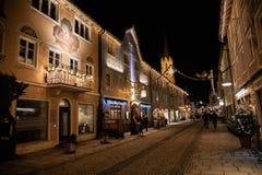 La ciudad vieja de Garmisch-Partenkirschen imágenes de archivo libres de regalías