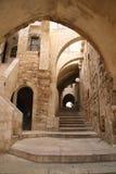 La ciudad vieja de Jerusalén Imagen de archivo