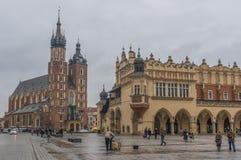 La ciudad vieja de Kraków, Polonia foto de archivo libre de regalías