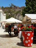 La ciudad vieja de Málaga Imagen de archivo libre de regalías