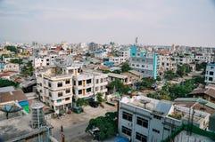 La ciudad vieja de Mandalay Foto de archivo libre de regalías