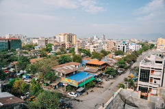 La ciudad vieja de Mandalay Foto de archivo