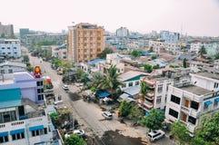 La ciudad vieja de Mandalay Fotos de archivo libres de regalías