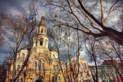La ciudad vieja de Odessa Ukraine Fotos de archivo