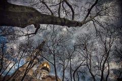 La ciudad vieja de Odessa Ukraine Foto de archivo libre de regalías